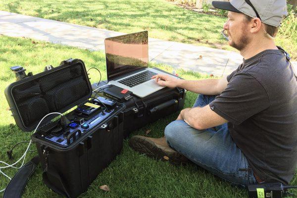ThunderPack™ Mini Mk I on the job